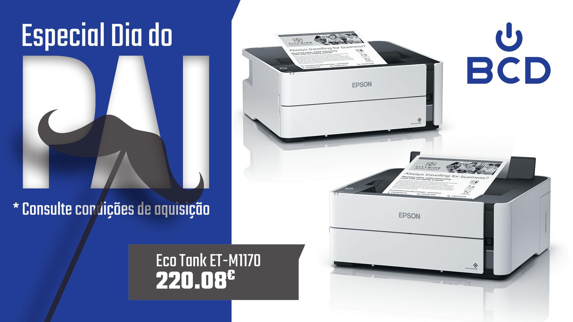 EPSON ECOTANK ET-M1170 (C11CH44401)
